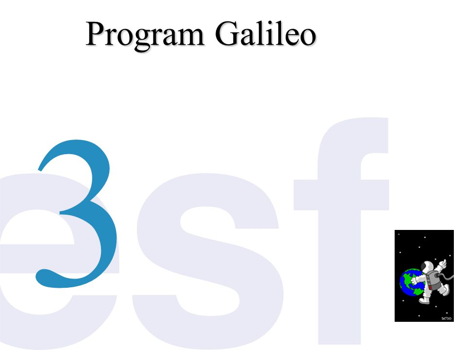 Program Galileo 3