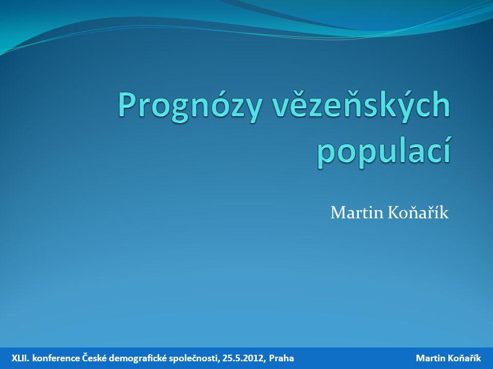 Martin Koňařík XLII. konference České demografické společnosti, 25.5.2012, Praha Martin Koňařík