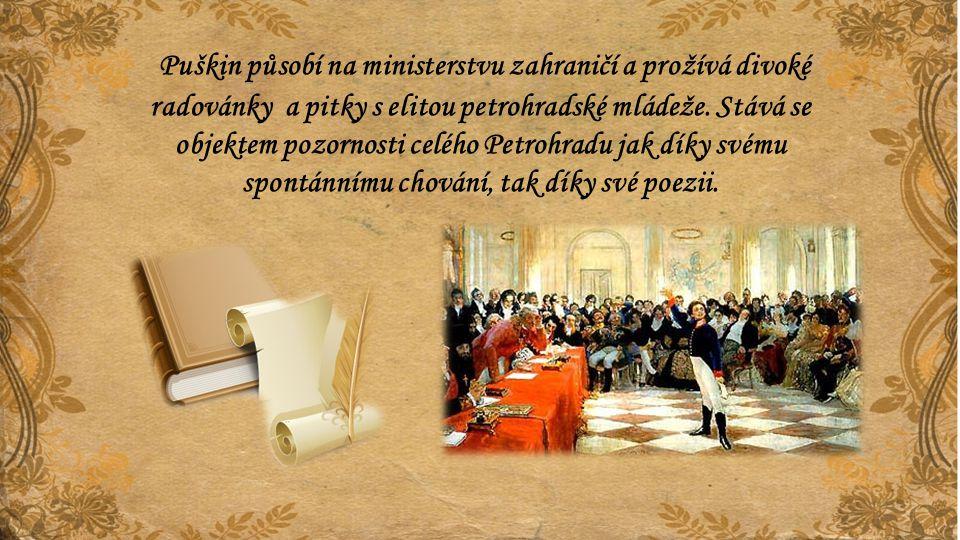 Car Alexandr I., ve svém stihomamu a pod dojmem obecného napětí ve své říši i v Evropě tak velkou osobnost nakonec nesnese.