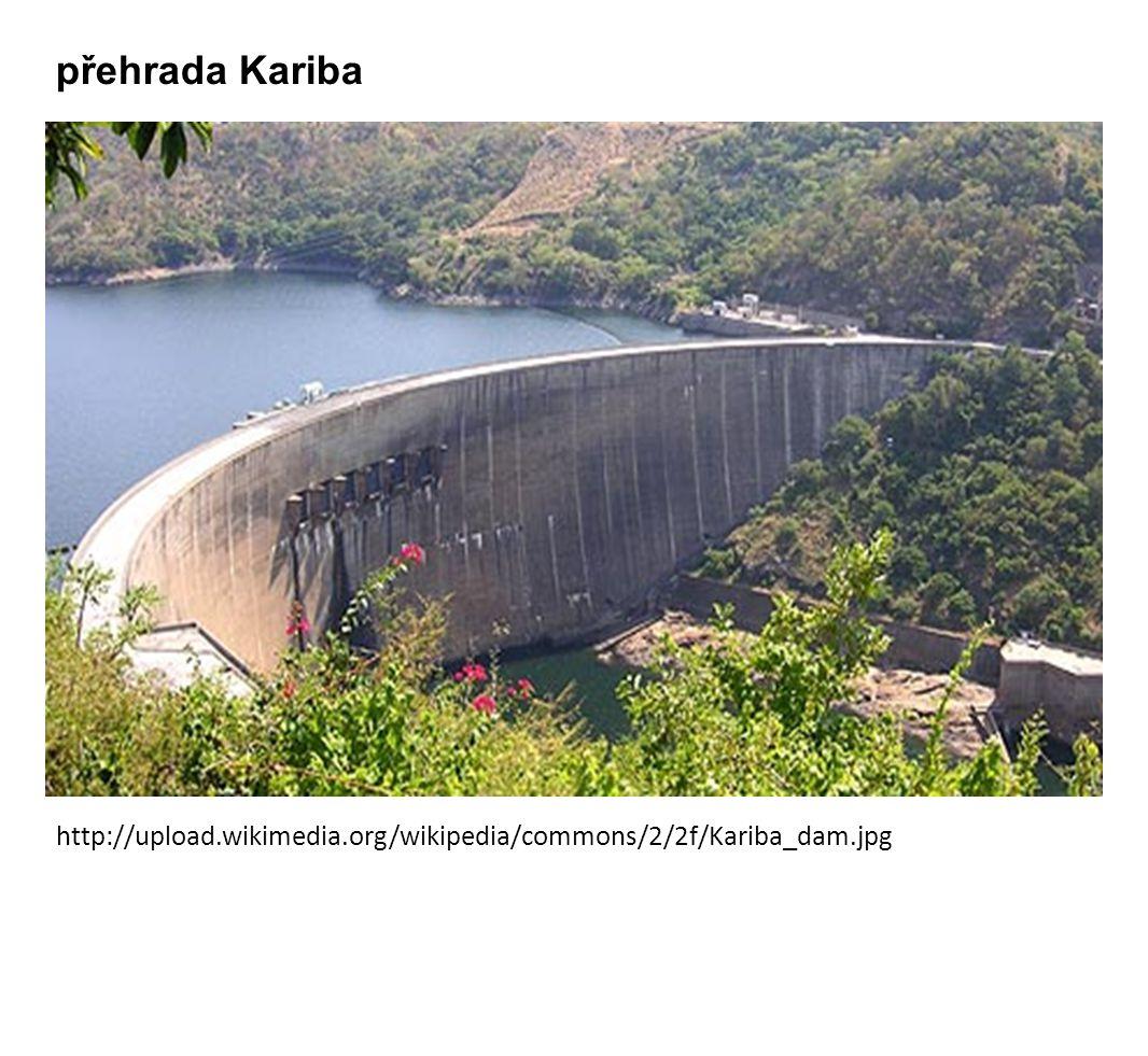 http://upload.wikimedia.org/wikipedia/commons/2/2f/Kariba_dam.jpg přehrada Kariba