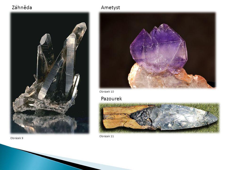  magnetit, hematit Obrázek 12Obrázek 13 MagnetitHematit