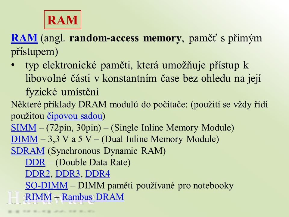 RAM RAM (angl.