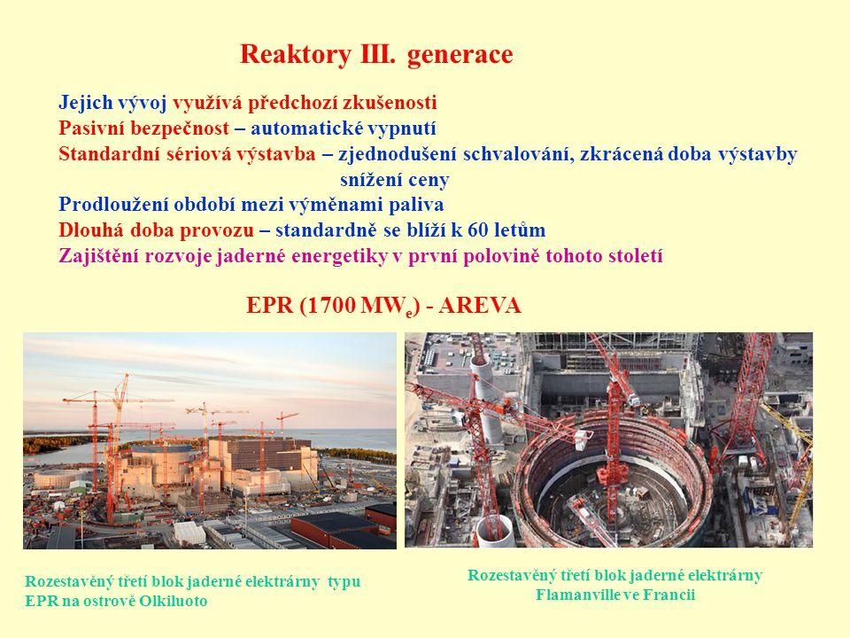 Reaktory III.