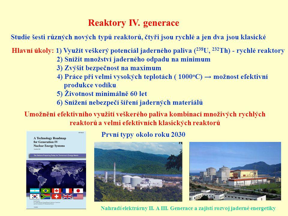 Reaktory IV.