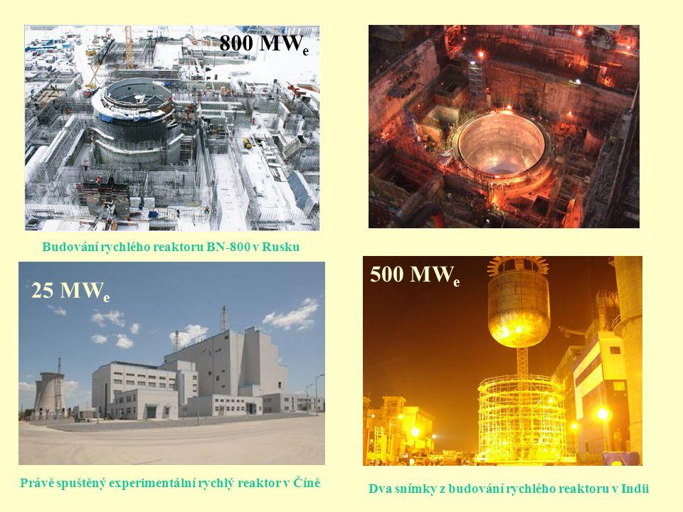 Různé generace jaderných reaktorů Využívání jaderné energie od padesátých let Komerční reaktory od šedesátých, sedmdesátých let osmdesátá a devadesátá léta - stále efektivnější a bezpečnější Začátek tohoto století – nová III.