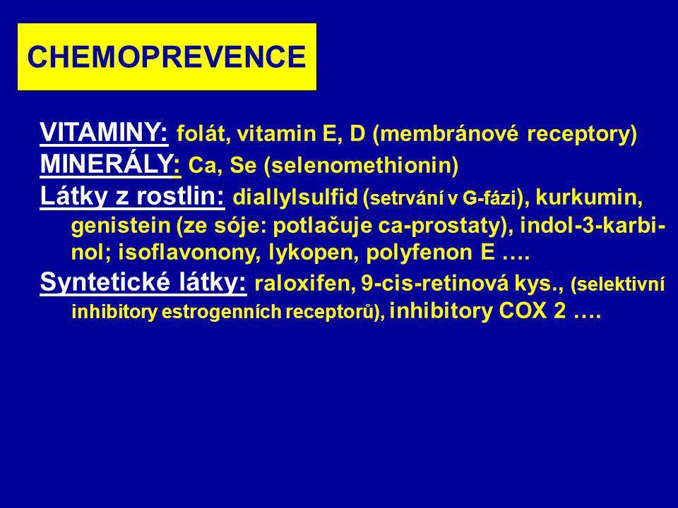 Normální urothel Ta T1 T2-4 Tis T1T2-4 Ta N+/M+ RAS TP53 RB 5qDel, 3pDel 6qDel, 11pDel, 18qDel 9qDel 9pDel (INK4A) Vývoj molekulových markerů urothelkarcinomu Dobrá prognóza Méně dobrá Špatná prognóza Superficiální tumor Infiltrující tumor