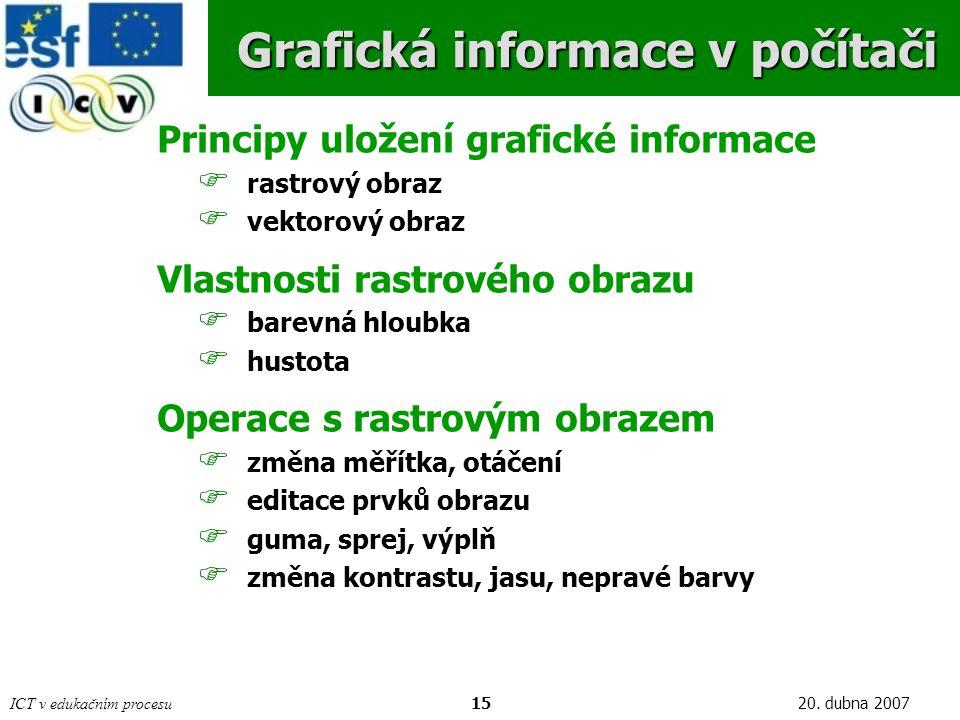 ICT v edukačním procesu1520.