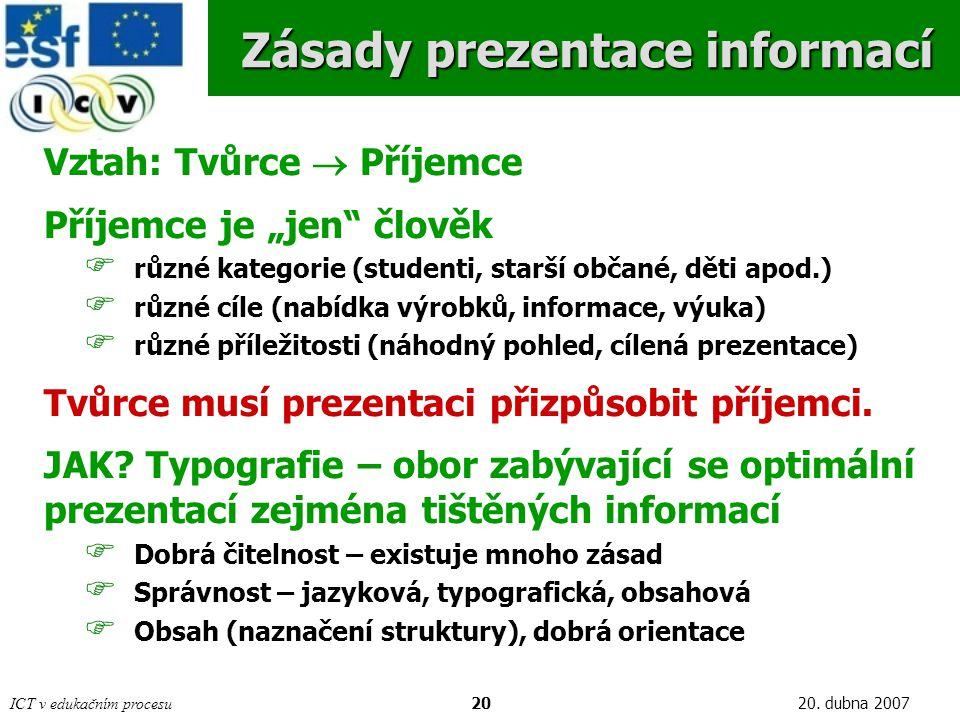 ICT v edukačním procesu2020.
