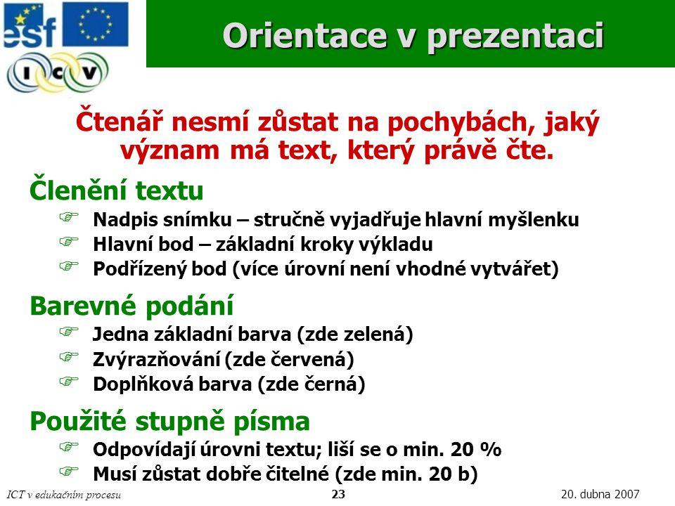 ICT v edukačním procesu2320.