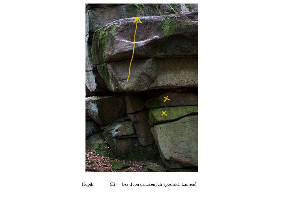 Hopík6B+ - bez dvou označených spodních kamenů