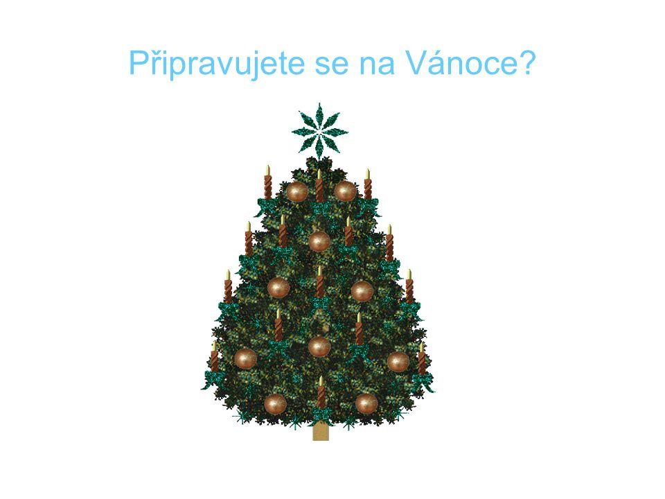 Připravujete se na Vánoce