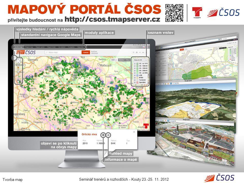 Seminář trenérů a rozhodčích - Kouty 23.-25. 11. 2012 Tvorba map 21