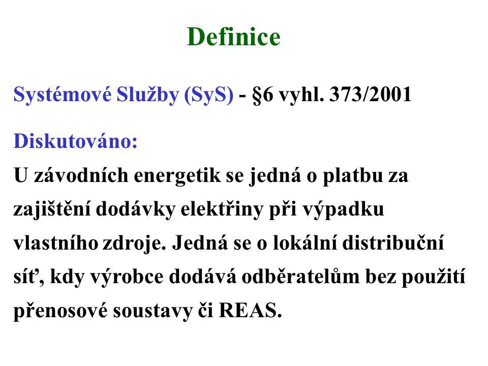 Definice Systémové Služby (SyS) - §6 vyhl.