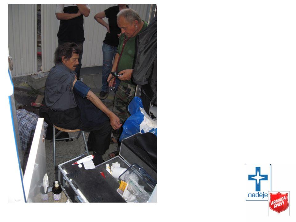 Ošetřovatelská péče Centrum sociálních služeb Armády spásy loď Hermes
