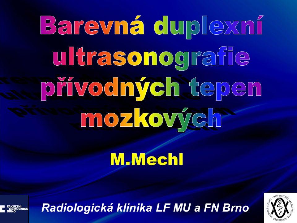 M.Mechl Radiologická klinika LF MU a FN Brno