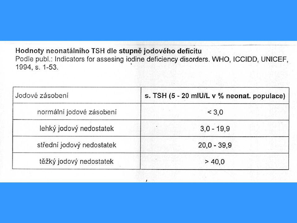 b) AUTOIMUNITNÍ TYREOPATIE u DĚTÍ a DOSPÍVAJÍCÍCH Orgánově specifické onemocnění s orgán.