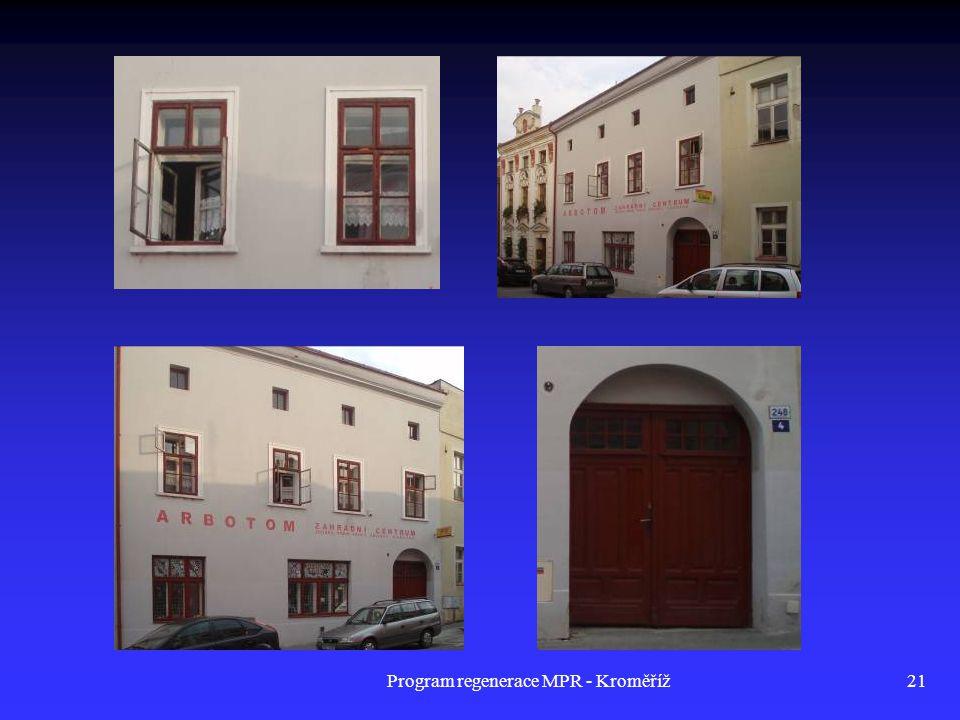 Program regenerace MPR - Kroměříž21