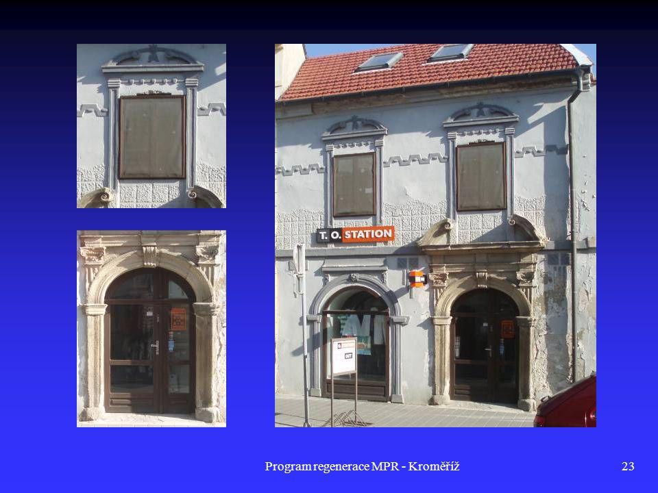 Program regenerace MPR - Kroměříž23