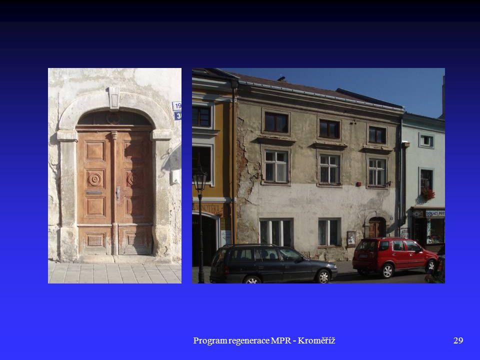 Program regenerace MPR - Kroměříž29