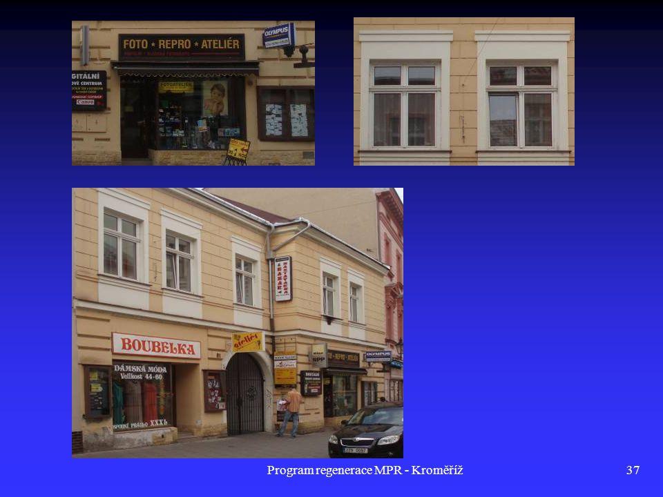 Program regenerace MPR - Kroměříž37