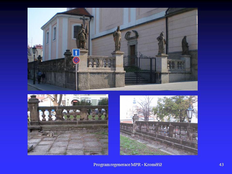 Program regenerace MPR - Kroměříž43
