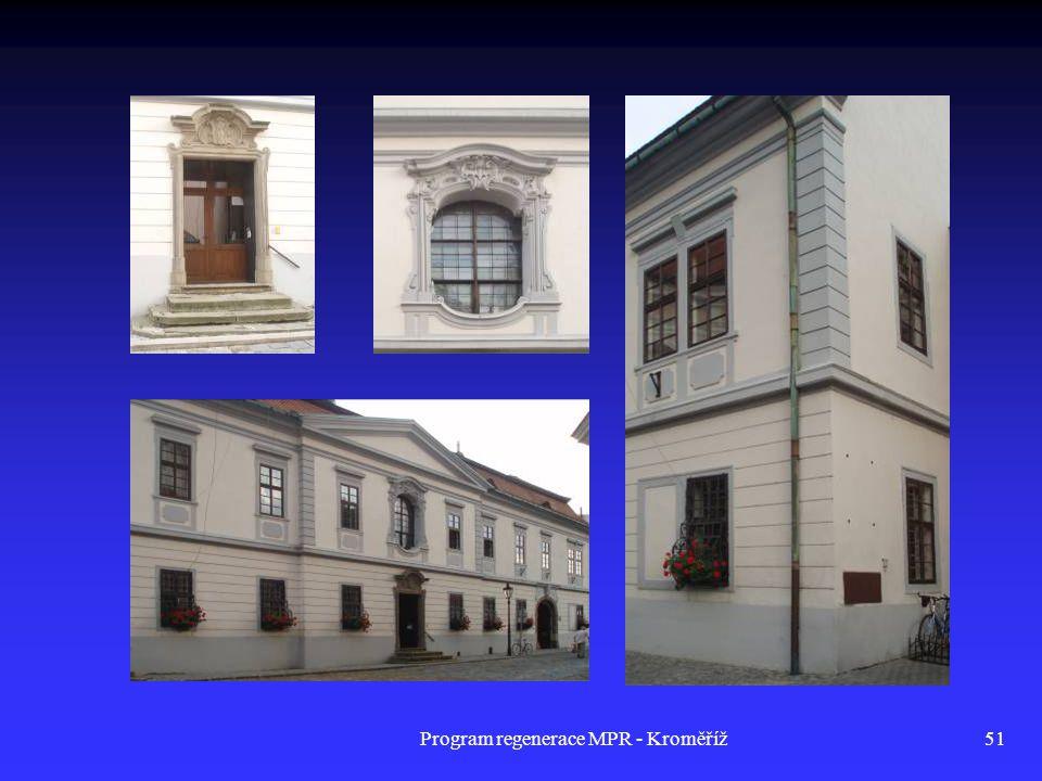 Program regenerace MPR - Kroměříž51