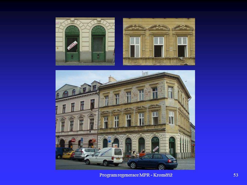 Program regenerace MPR - Kroměříž53