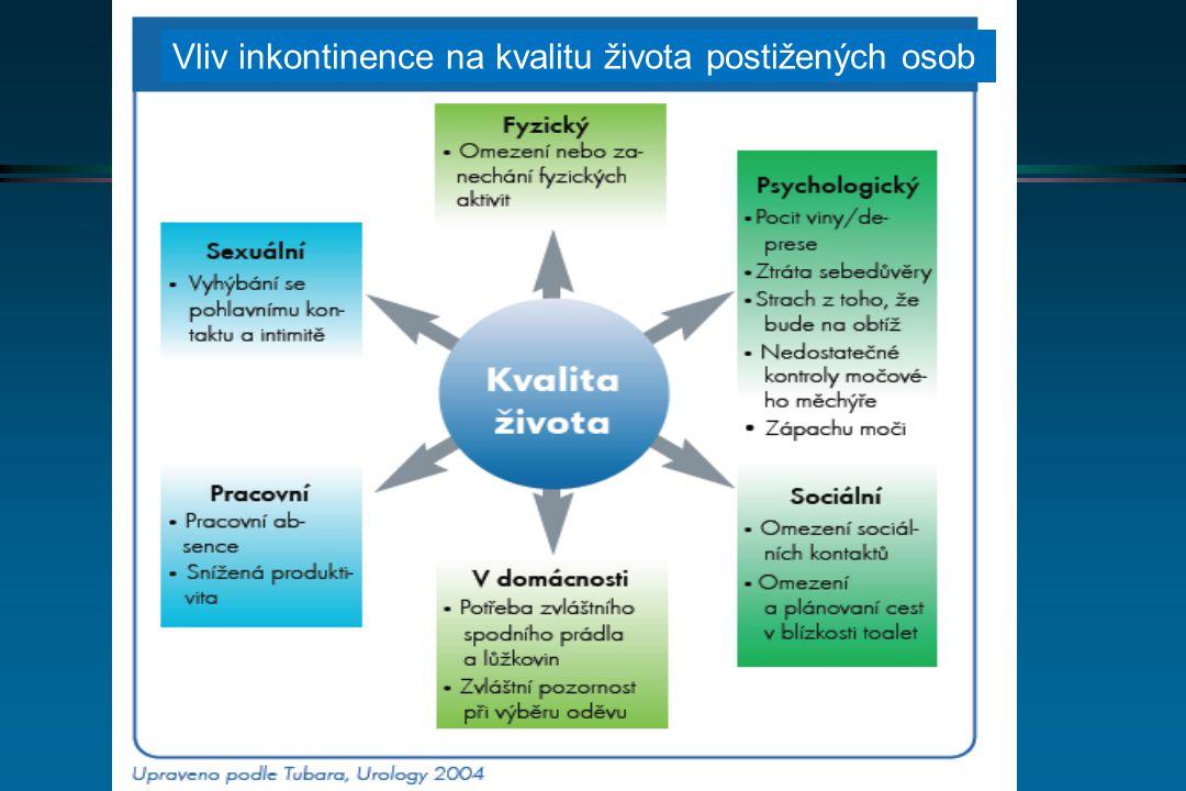 Inkontinence v domácí péči, ČR 2002 Topinková, Klevetová 2003