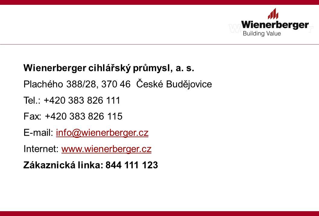 Wienerberger cihlářský průmysl, a.s.