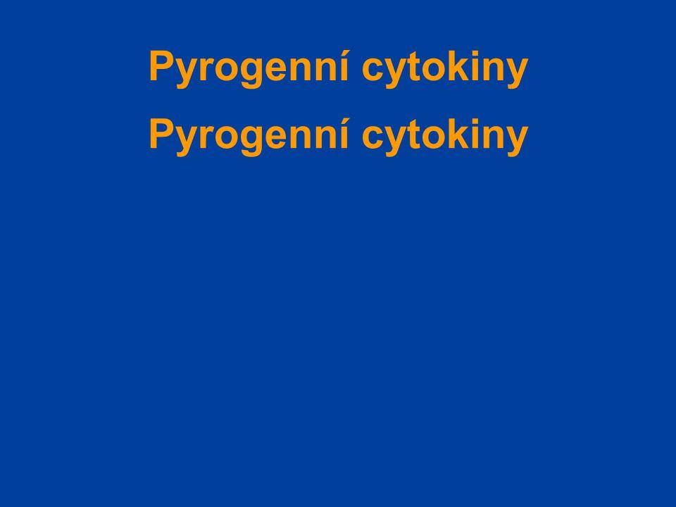 Pyrogenní cytokiny