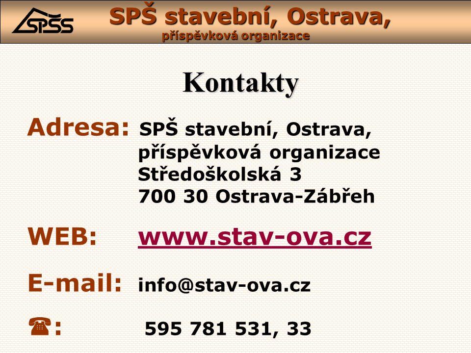 Středoškolská 3, Ostrava-Zábřeh SPŠ stavební, Ostrava, příspěvková organizace