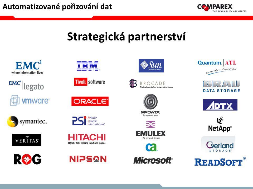 Strategická partnerství Automatizované pořizování dat