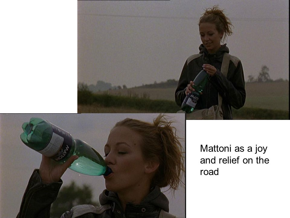 Mattoni as a joy and relief on the road