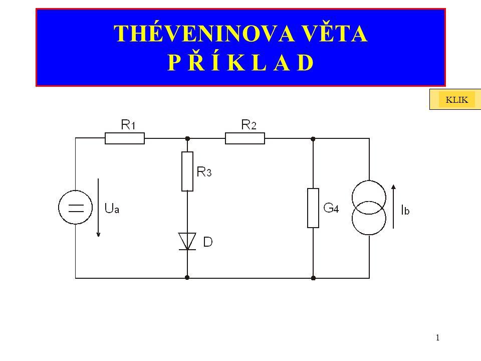 2 Je dáno zapojení s polovodičovou diodou (Si).