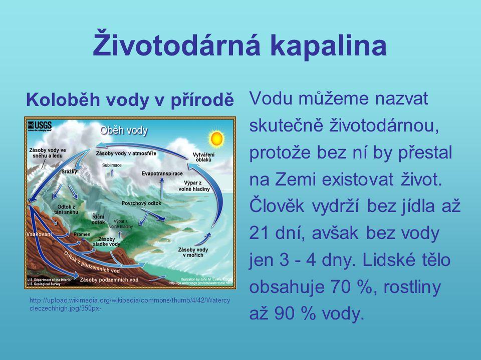 Úkol 1: Napiš, v jakých skupenstvích se voda vyskytuje: Kontrola: Pevné (led, sníh), kapalné, plynné (pára) http://upload.wikimedia.org/wikipedia/commo ns/thumb/c/c2/Rotterdam_20051224_10.jpg/ 800px- http://upload.wikimedia.org/wikipedia/co mmons/thumb/0/0e/Beach_full_of_ice_in _J%C3%B6kulsarlon_Iceland.JPG/120px Beach_full_of_ice_in_J%C3%B6kulsarlo n_Iceland.JPG http://upload.wikimedia.org/wi kipedia/commons/thumb/0/02/ Stilles_Mineralwasser.jpg/180 px-Stilles_Mineralwasser.jpg