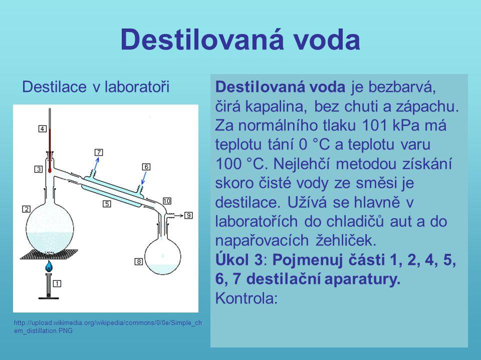 Měkká a tvrdá voda http://upload.wikimedia.org/wikipedi a/commons/thumb/a/a9/Artesian_w ell_Virttaa.JPG/800pxArtesianJPG http://upload.wikimedia.org/w ikipedia/commons/thumb/c/c 6/Soca.jpg/120px-Soca.jpg http://upload.wikimedia.org/ wikipedia/commons/thumb/ 3/39/Rain_drops.jpg http://upload.wikimedia.org /wikipedia/commons/thumb /d/d0/NorthKoreanJPG AB C D Měkká voda obsahuje málo rozpuštěných látek.