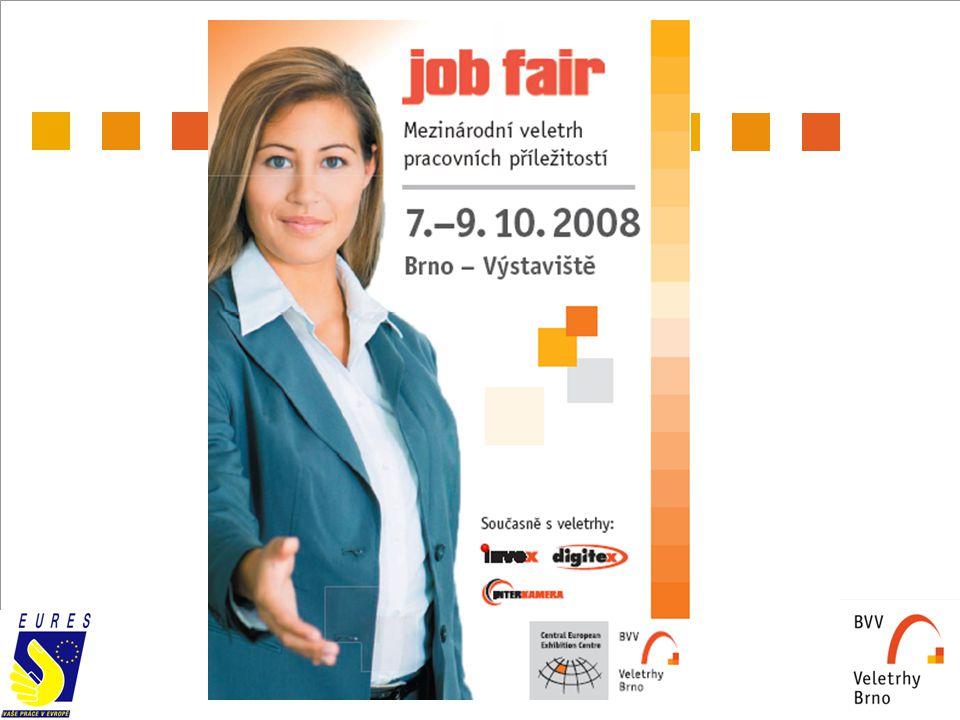 2 CHARAKTERISTIKA PROJEKTU  Veletrh se zaměřením na setkání potenciálních zaměstnavatelů, personálních agentur s cílovou skupinou volných pracovních sil TERMÍN KONÁNÍ  7.