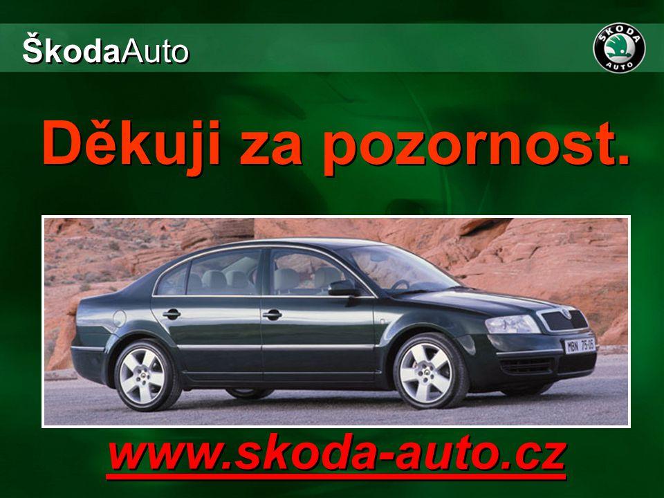 www.skoda-auto.cz ŠkodaAuto Děkuji za pozornost.