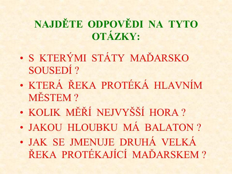 Maďarština patří mezi ………… jazyky.Je příbuzná ………… a …………..