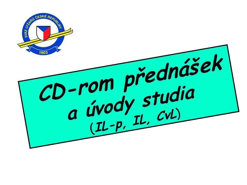 CD-rom přednášek a úvody studia (IL-p, IL, CvL)