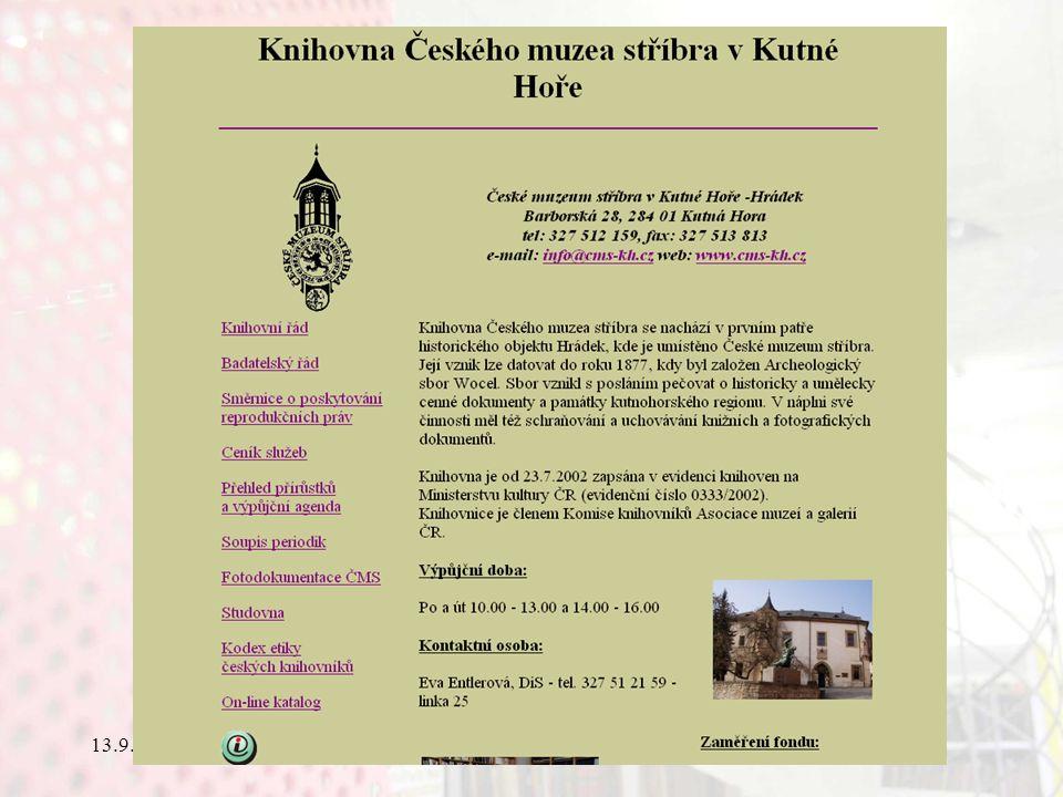 13.9.2006Knihovny současnosti 2006, Seč