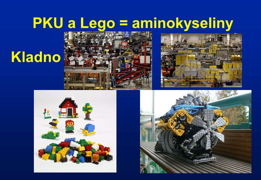 PKU a Lego = aminokyseliny Kladno