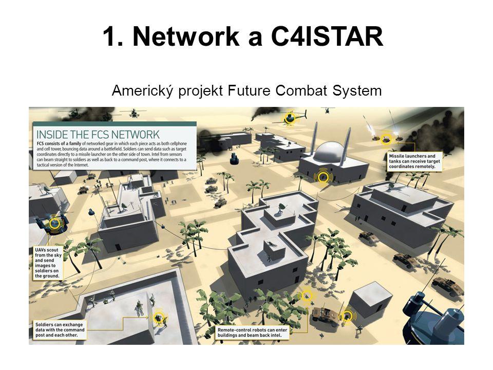 1. Network a C4ISTAR Americký projekt Future Combat System