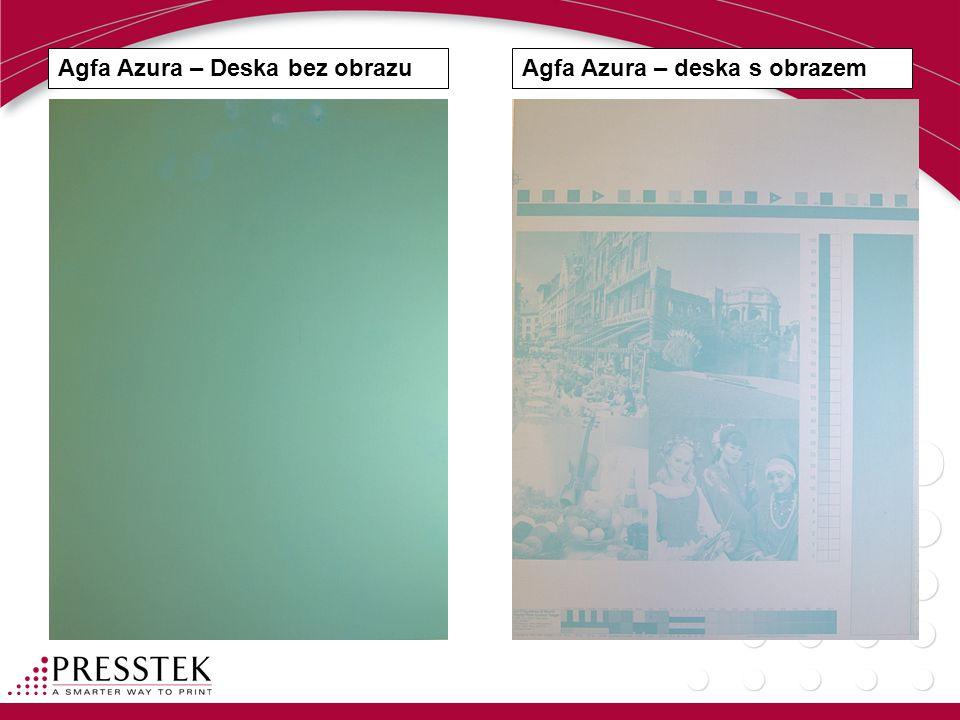 Agfa Azura – Deska bez obrazuAgfa Azura – deska s obrazem