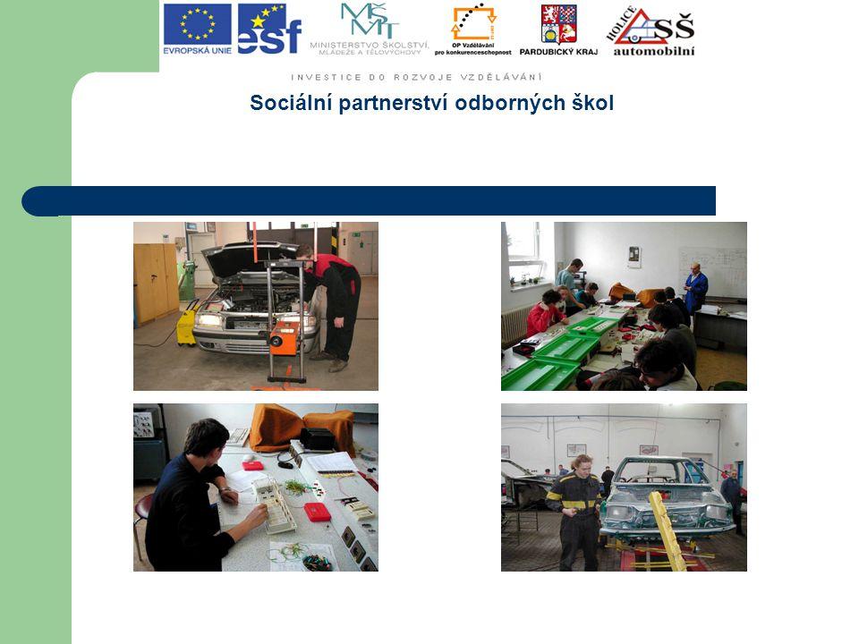Sociální partnerství odborných škol