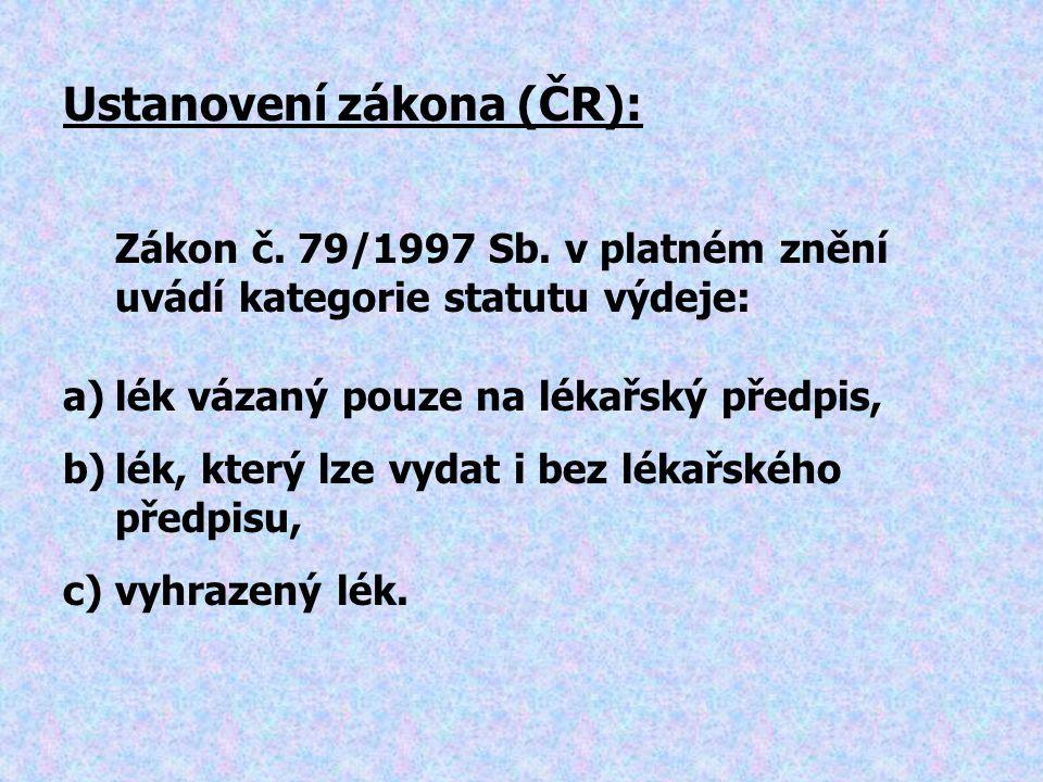 Zákon č.79/1997 Sb.