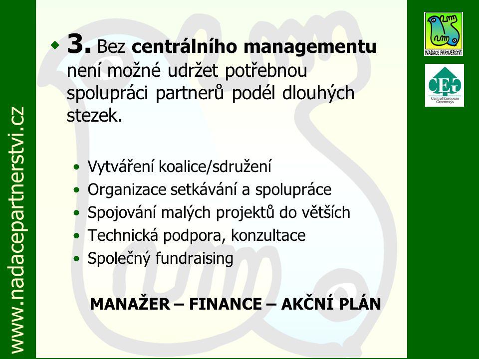 www.nadacepartnerstvi.cz w 4.Bez místních partnerů není možné uskutečňovat cíle projektu.