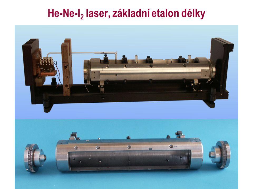 He-Ne-I 2 laser, základní etalon délky