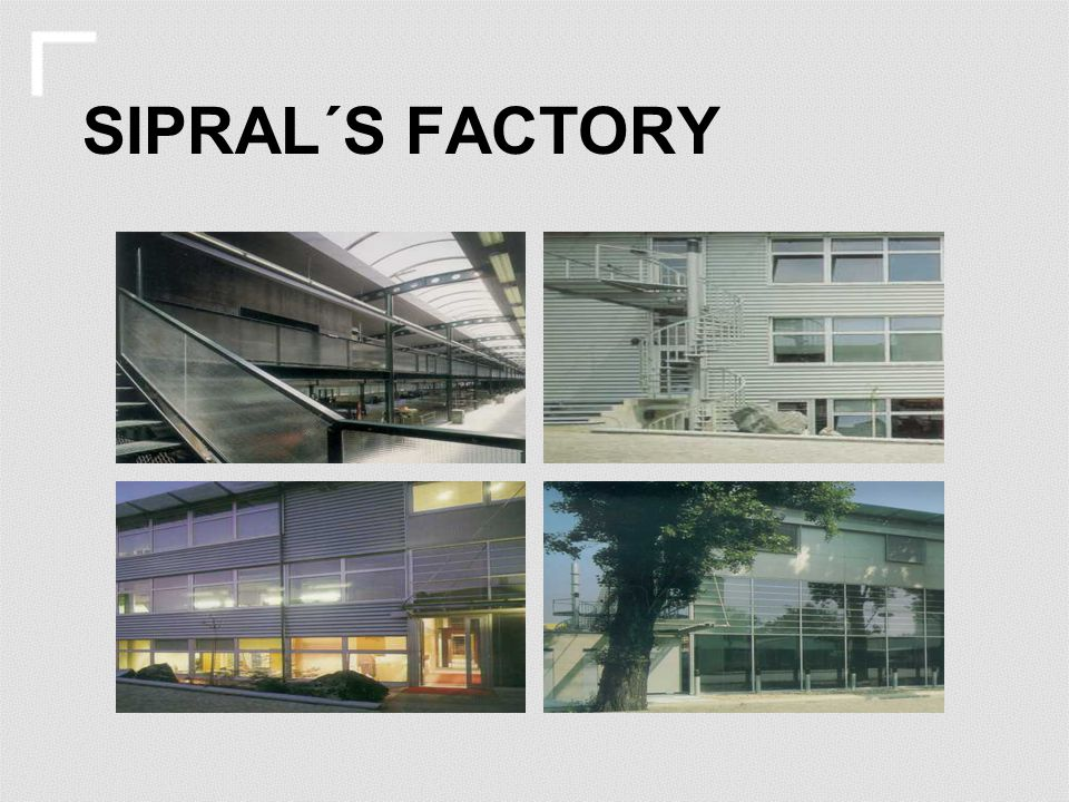 SIPRAL´S FACTORY