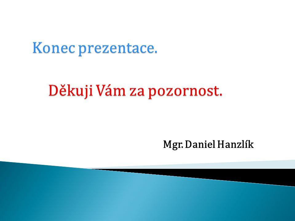 Mgr. Daniel Hanzlík